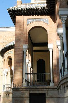 Sevilla. Parque de Maria Luisa. Museo de Artes y Costumbres populares.