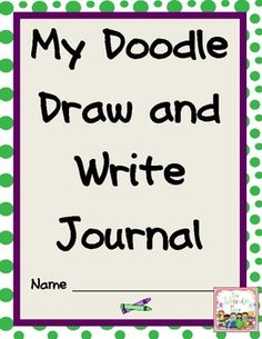 This is a 27 page download of my Doodle and Write center packet. Included you will find 12 different doodles for your students to extend on and then 1 extended writing page for each doodle. My students love this activity. I use it as a writing center and also a morning work activity. It is a great way to get their juices flowing!  $4.99
