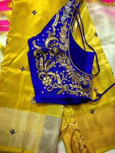Saree and blouse from srihita exports