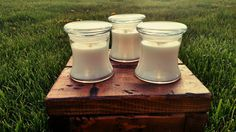 Check out this item in my Etsy shop https://www.etsy.com/listing/276952384/12oz-vanilla-soy-candle-all-natural-hand