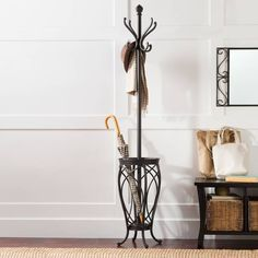 Product Image for Ampersand™ Charleston Coat Rack in Black 1 out of 2