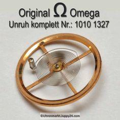 Omega Unruh Spirale Welle komplett montiert Part Nr. Omega 1010-1327 Cal. 1010 1011 1012 1020 1021 1022 1030 1035 in Omega Ersatzteile auf Uhrenmarkt Juppy24