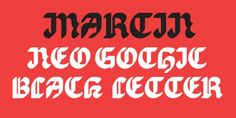 EB Martin font download