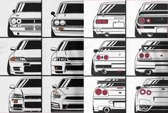 Nissan GT-R through the years