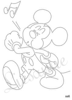 Fluitende mickey Embroidery Cards, Embroidery Patterns, Hand Embroidery, String Art Templates, String Art Patterns, Nail String Art, Rhinestone Art, Ideias Diy, Doodle Designs