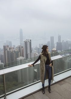 Victoria Peak The Peak Hong Kong Jenny Tsang of Tsangtastic in Hong Kong must see instagram spots must visit attractions