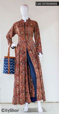 for purchase whatsapp us 9740901024 Pakistani Dresses, Indian Dresses, Indian Outfits, Indian Attire, Indian Wear, Kurta Designs, Blouse Designs, Kalamkari Dresses, Modele Hijab