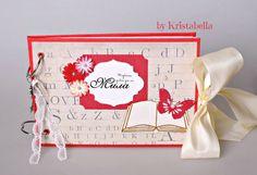 Scrapbook Album  Back To School Album  by KristabellaCreations