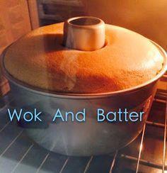 Wok And Batter : Nescafe 3 in 1 Coffee Chiffon Cake