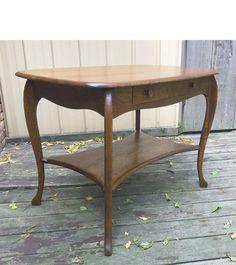 Antique Revival Period Oak Library Table #https://www.pinterest.com/munlimited/
