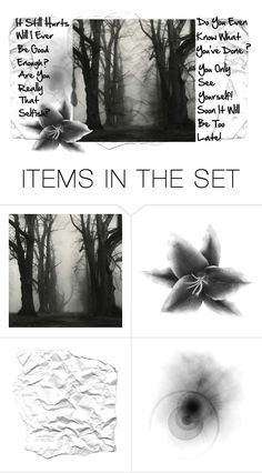 """""""I'm Done Trying"""" by leelee107 ❤ liked on Polyvore featuring art"""