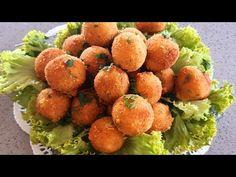Crochete din cartofi, un aperitiv simplu și delicios/Potatoes croquettes,an delicious appetizer - YouTube Mozzarella, Cheddar, Appetizers, Potatoes, Ethnic Recipes, Youtube, Food, Cheddar Cheese, Appetizer