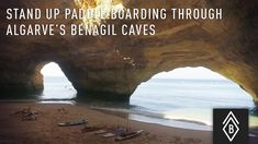 A Tour of #Portugal's Famed Benagil Caves - via Travel Basecamp 26.11.2015 | Stand Up Paddle Boarding Through Algarve's Legendary Benagil Caves in Southern Portugal - Video 1/4 #algarve #travel #tips