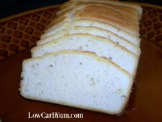 A basic low carb bread recipe. Enjoy it as toast for breakfast to complement eggs, to make a sandwich for lunch, or as a dinner appetizer.