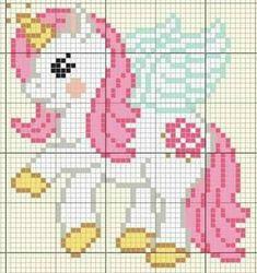 Crochet Patterns Free Blanket Disney Punto De Cruz Ideas For 2019 Unicorn Cross Stitch Pattern, Cross Stitch Baby, Cross Stitch Animals, Cross Stitch Charts, Cross Stitch Designs, Cross Stitch Patterns, Cross Stitching, Cross Stitch Embroidery, Beading Patterns