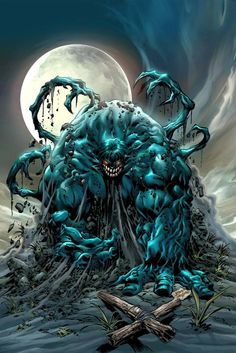 'Venomized Hulk' ~ by Mike Deodato Jr
