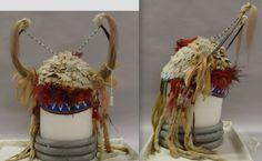 Sioux horn bonnet. Science Mus. Minn. ac