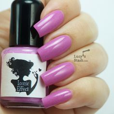 Lucy's Stash: Iconic Effect - British indie nail polish - Review and swatches