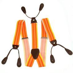 3.5cm in Width New Mens Womens Suspenders solid Adjustable elastic belt 6 Button hole Leather Fittings Braces Black beige blue