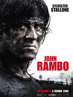 Rambo , starring Sylvester Stallone, Julie Benz, Matthew Marsden, Graham McTavish. In Thailand, John Rambo joins a group of mercenaries to venture into war-torn Burma, and rescue a group of Christian aid workers who were kidnapped by the ruthless local infantry unit. #Action #Thriller #War