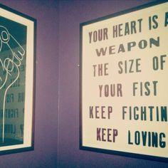 Keep fighting.. Keep Fighting, My Style, Home Decor, Homemade Home Decor, Decoration Home, Interior Decorating