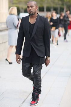 The guy is a dbag...but his Paris street style is on point. Perfect night outfit for Javi.