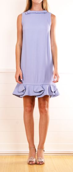 MIU MIU DRESS.  Little bow at neck and little ruffles above the knee.  How sweet.