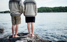 Warm summer days – barefoot by the fjords of Norway🌊☀️. How are you going to spend your weekend?  Shop Setesdal now in one of our stores, retailers or get free shipping at daleofnorway.com – Designed and knitted in Norway Summer Days, Barefoot, Norway, Bermuda Shorts, Retail, Warm, Free Shipping, Instagram Posts, Shopping
