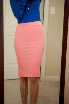 Zaira Benson: The 30 Min. Pencil Skirt Tutorial