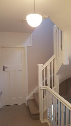 A loft conversion to this traditional Semi -Detached property in Henleaze provided a large master bedroom with en-suite shower room facil. Stairs To Attic Conversion, Loft Conversion Plans, Loft Conversion Design, Loft Conversion Bedroom, Loft Conversions, Loft Conversion Ideas Small, Small Attics, Small Loft, Loft Room
