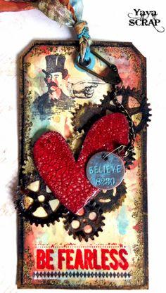 yaya scrap & more: 12 Tags of 2013 July Atc Cards, Card Tags, Gift Tags, Envelope Diy, Envelopes, Steampunk Cards, Book Libros, Handmade Tags, Paper Tags