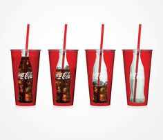 Coca-cola glass concept