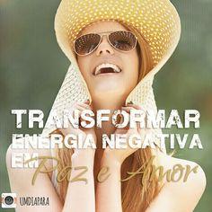 Um dia para transformar energia negativa em Paz e amor