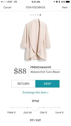 love the loose look of this and color. I could wear this to work or pair it with some jeans