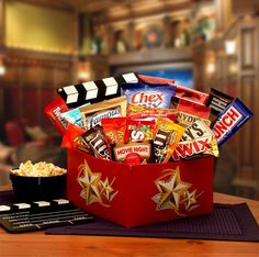 It's A Red Box Night Gift Box with Red Box Gift Card #MovieNight #Movies #Gifts…
