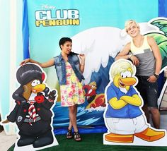 Disney Teen Beach Movie Summer Jam at Club Penguin - Mack and Brady