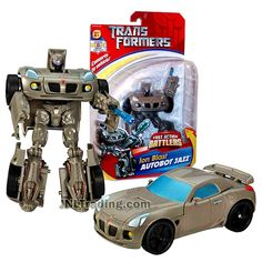 Transformer Year 2006 Fast Action Battlers Series 6 Inch Tall Figure - – JNL Trading Transformers Energon, Transformers Toys, Arm Cannon, Jazz, Pontiac Solstice, Transformers Collection, Kind And Generous, Robot Action Figures, Across The Universe