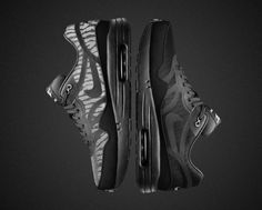 "Nike Air Max Tape ""Black Reflective"" Collection (Detailed Pics & Release Info)"