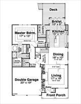 ADAMS I 1131 - 3 Bedrooms and 2.5 Baths | The House Designers