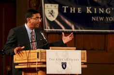 The King's College Taps Apologist Dinesh D'Souza as President
