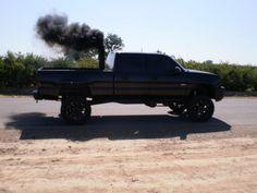 black diesel smoke<333