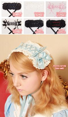 acc832 - Headdress - LOLITA  $6.16  7 colors available