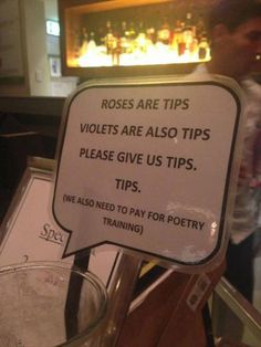 tip signs