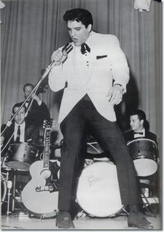 Memphis Charity Show, February 25,1961 Ellis Auditorium, Elvis Presley