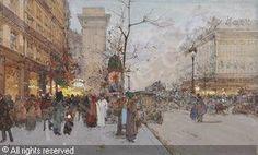 GALIEN-LALOUE Eugène - La Porte Saint-Denis, Paris