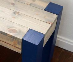 Check out the tutorial on how to make an easy DIY bench @istandarddesign