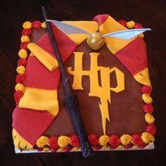 Harry Potter Cake - who doesn't love Harry Potter?