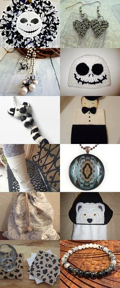 Black and White... by Pamela A. on Etsy--Pinned+with+TreasuryPin.com