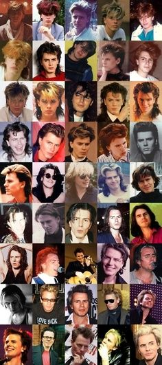 This is awesome. The many looks of John Taylor.