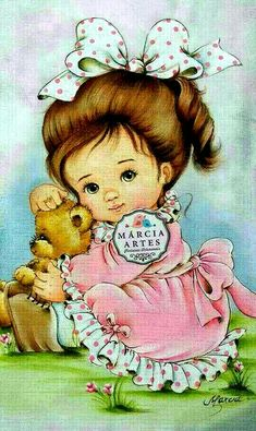 Baby Painting, Fabric Painting, Brother Innovis, Baby Drawing, Free Machine Embroidery, Cute Illustration, Doll Face, Cute Love, Cat Art